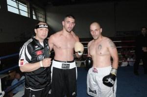 Bülent Baser, Nikola Milacic und Zeljko Bojic