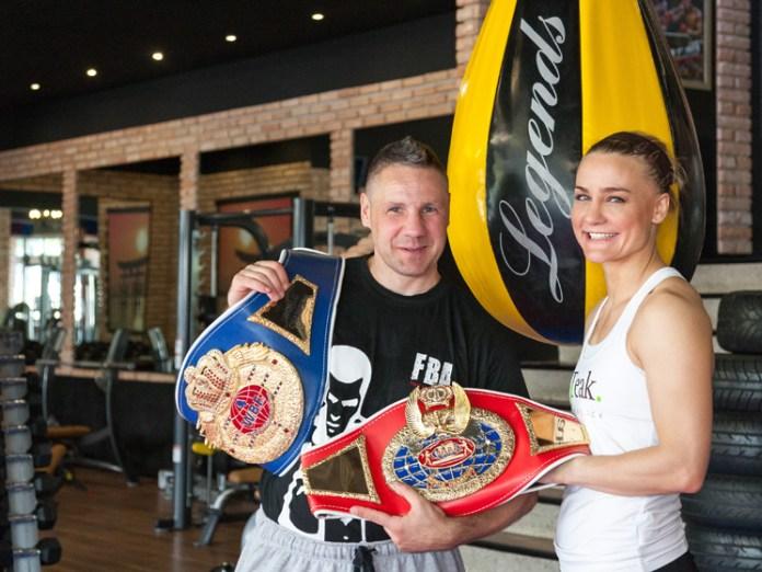 Profi-Boxerin Nicole Wesner / Foto: Detlev Scheerbarth