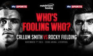 Callum Smith gegen Rocky Fielding