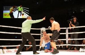 Firat Arslan gegen Paata Aduashvili/ Foto: Konstantinos Sarigiannidis