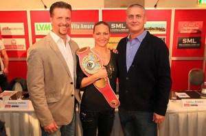 Stephan Kühne, Ramona Kühne und Ulf Steinforth / Foto: SES Team