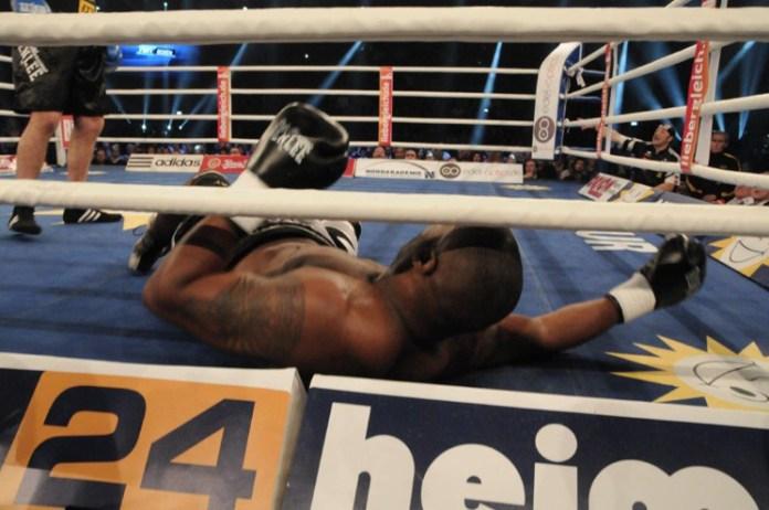 Adrian Granat - Blitz-KO gegen Michael Sprott