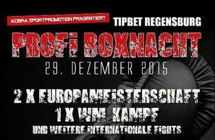 Boxen in Regensburg – Dienstag, 29.12.2015