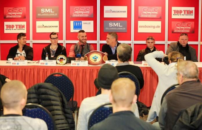 Pressekonferenz im Tryp Hotel Halle (Saale) / Foto: SES Team - P. Gercke