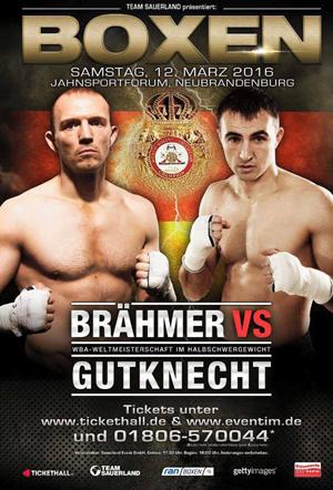 Jürgen Brähmer vs. Eduard Gutknecht - Plakat