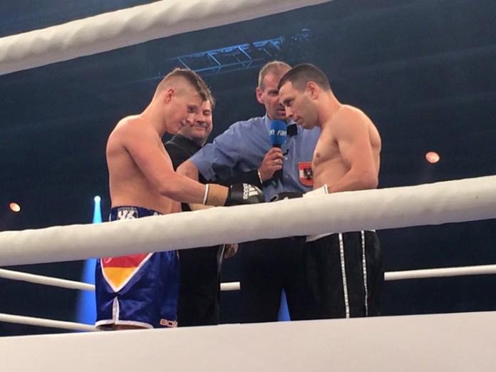 Sebastian Formella (Deutschland) vs. Frane Radic (Kroatien)