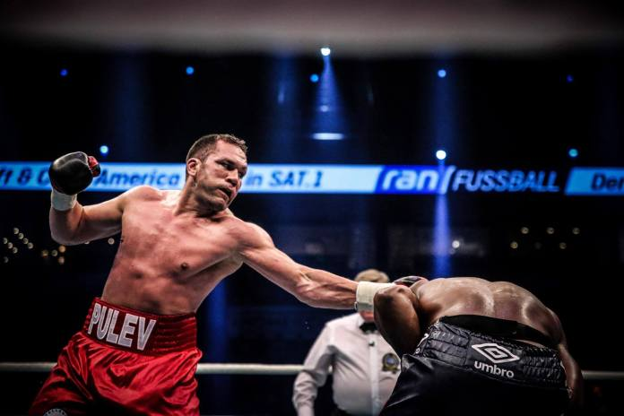 Chisora vs. Pulev / Foto: Sebastian Heger