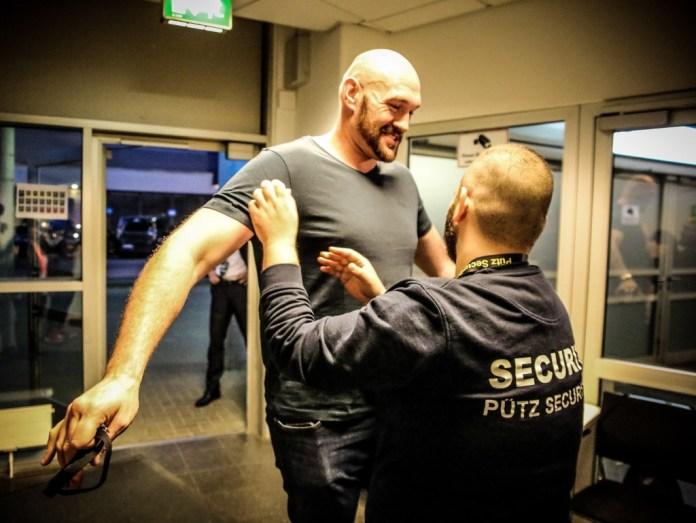 Tyson Fury / Foto: Sebastian Heger