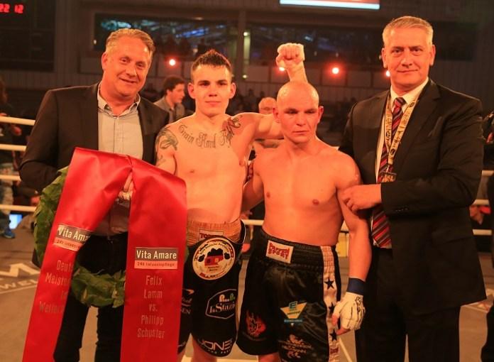 Felix Lamm siegt mit TKO über Philipp Schuster