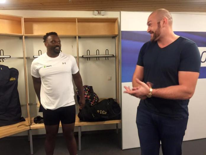 Tyson Fury und Dereck Chisora / Foto: sebastian Heger