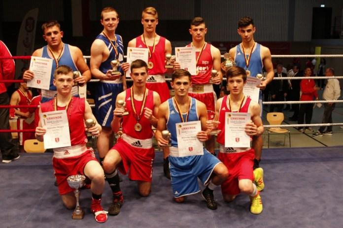 Die neuen U19 Meister / Foto: go4boxing.com
