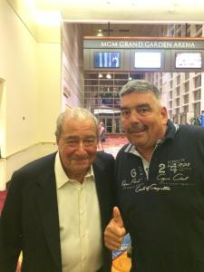 Bob Arum und Thomas Holefeld