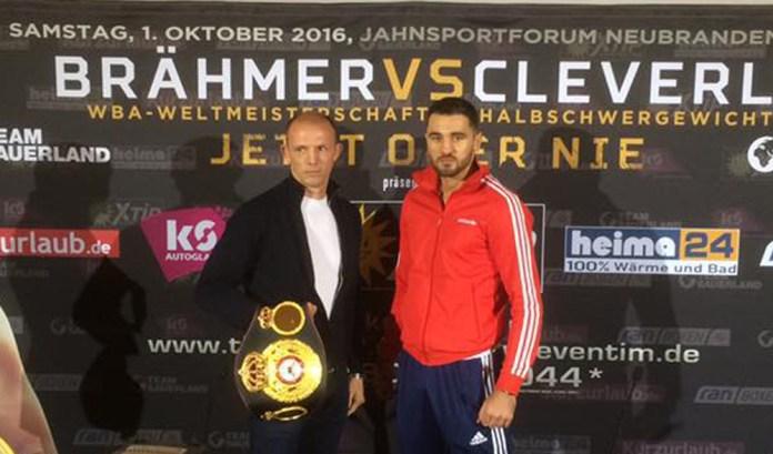 Pressekonferenz Jürgen Brähmer vs. Nathan Cleverly