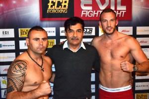 Mario Daser vs. Drazan Janjanin / Foto: EC Boxin