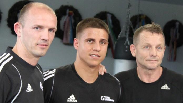 Jürgen Brähmer, Tyron Zeuge und Conny Mittermeier
