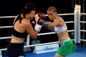 Nicole Wesner vs. Kremena Petkova / Foto: Daniel Koch