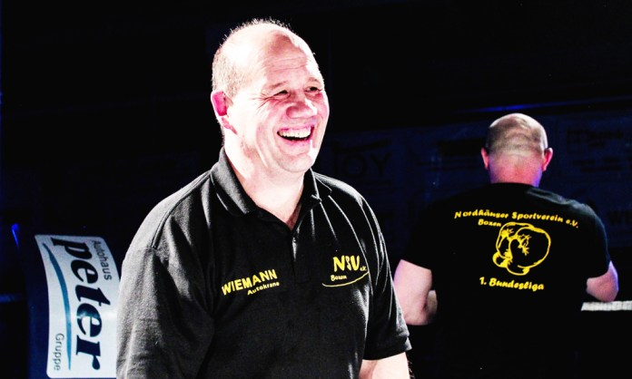 NSV-Cheftrainer Andreas Dietrich-Scherfling / Foto: Christoph Keil