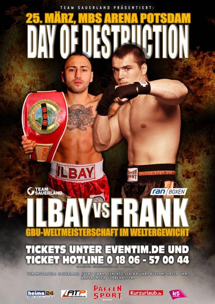 Ilbay vs Frank Poster