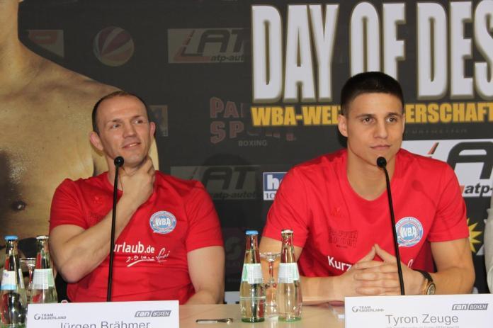Jürgen Brähmer und Tyron Zeuge / Foto: Team Sauerland