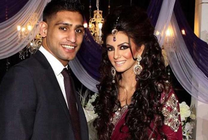 Amir Khan mit Faryal