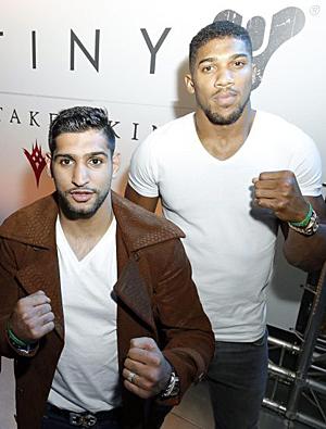 Amir und Antony