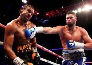 Tony Bellew schafft im Kampf gegen David Haye die Sensation und gewinnt durch tKO in der 11. Runde gegen den hohen Favoriten.
