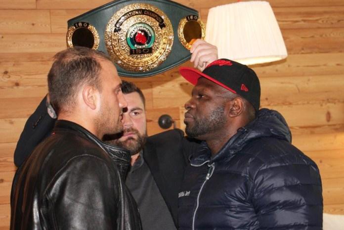 Francesco Pianeta und Kevin Johnson treffen am 14. Oktober im Ballhaus-Forum in München aufeinander.