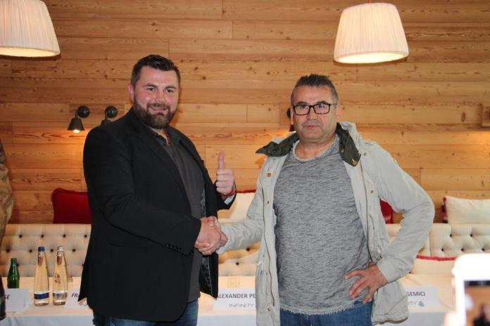 Alexander Petkovic & Ali Cukur - Bild. Petko´s Boxpromotion