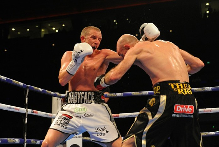 Boxing at Liverpool Echo Arena