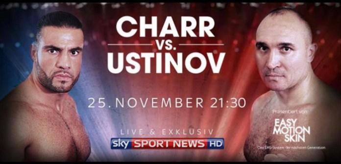 Charr vs Ustinov Plakat