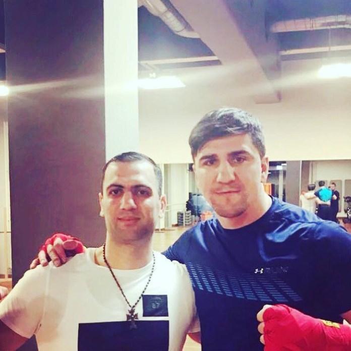 Armenak Hovhannisyan und Marco Huck / Foto: Huck Sports Promotion