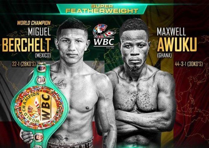 Miguel Berchelt vs. Maxwell Awuku Poster