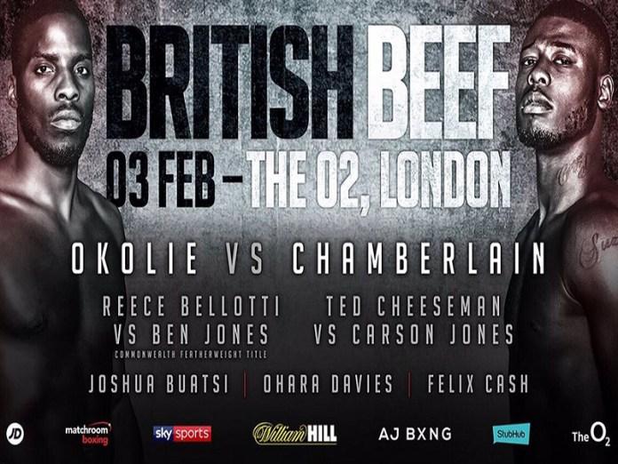 Beim morgigen Event in der Londoner O2 Arena erhalten gleich mehrere junge Talente die Gelegenheit, sich einem breiten Publikum zu präsentieren. Darunter insbesondere die Cruisergewichtler Lawrence Okolie und Isaac Chamberlain, die in ihrem Duell beweisen wollen, wer die Nr.1 in der britischen Hauptstadt ist.