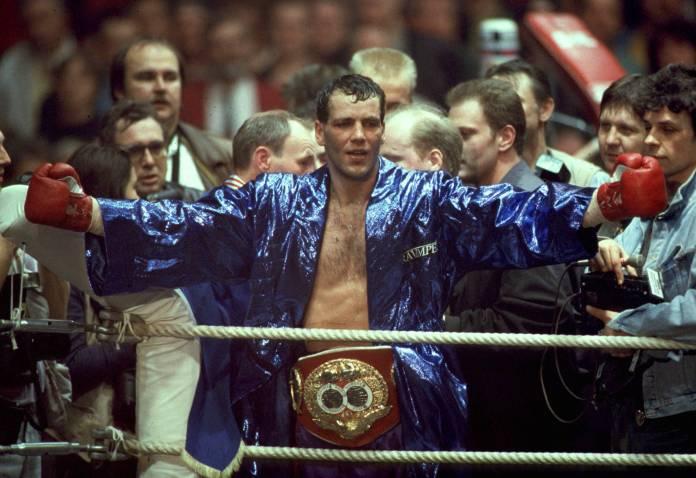Henry Maske siegte über Prince Charles Williams am 20.3.1993 Düsseldorf / Foto: imago