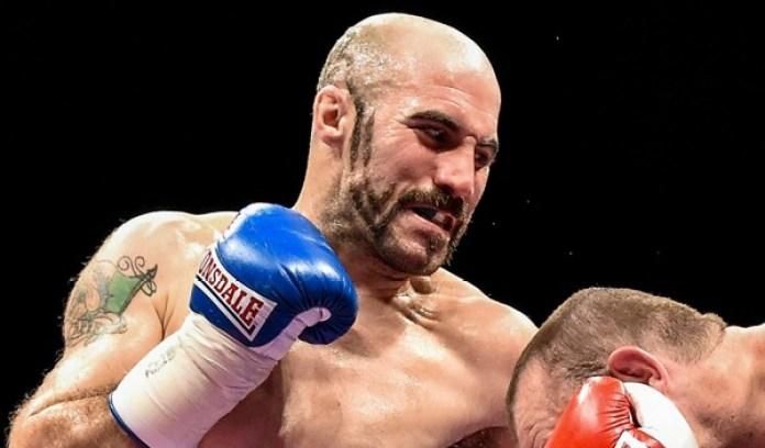 O´Sullivan bei seinem Erstrunden KO-Sieg über Anthony Fitzgerald