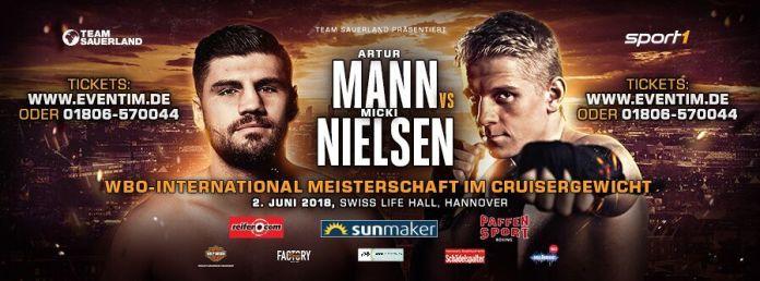 ARTUR MANN VS. MICKI NIELSEN Poster