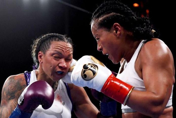 """Erstmalig übertrug in der Nacht zum heutigen Sonntag der bekannte US TV-Channel HBO einen Frauen-Boxkampf. Im Rahmen des Golovkin vs Martirosyan Fights verteidigte die 5fache Weltergewichts-Weltmeisterin Cecilia Breakhus ihre 5 WM-Gürtel gegen die US-Amerikanerin (mit brasilianischen Wurzeln) Kali Reis. Dabei musste die """"First Lady"""" zum ersten Mal in ihrer Boxkarriere zu Boden. Doch Breakhus stand wieder auf und verteidigte ihre Titel durch einen einstimmigen Punktsieg dann doch erfolgreich."""