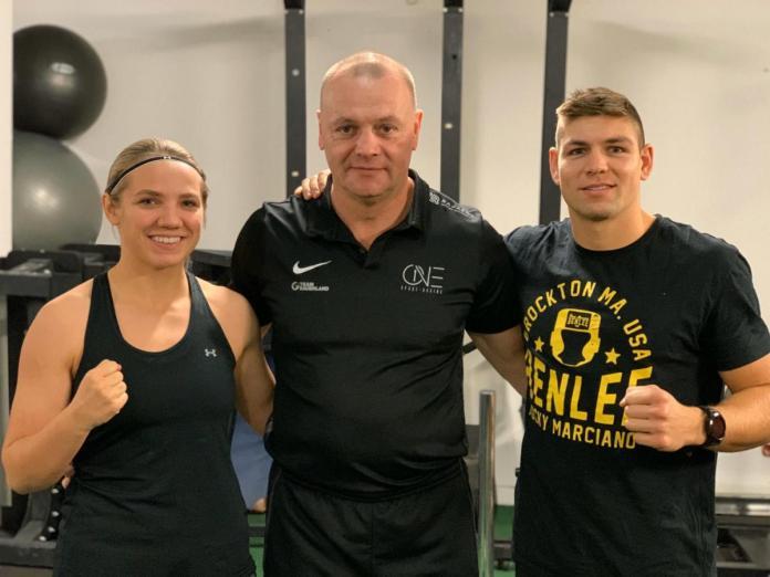 Sophie Alisch, Torsten Schmitz und Vincent Feigenbutz