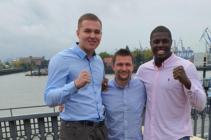Victor Jurk, Christian Morales, Peter Kadiru