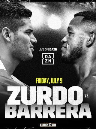 Gilberto Ramirez vs Sullivan Barrera Poster