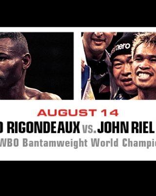 Guillermo Rigondeaux vs John Riel Casimero Poster