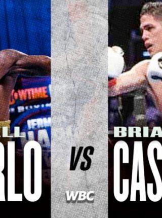 Jermell Charlo vs Brian Castano Poster