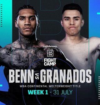 Conor Benn vs Adrian Granados 1 Poster
