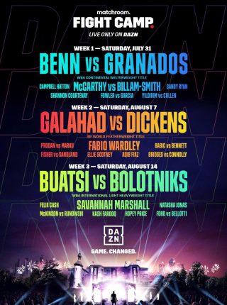 Conor Benn vs Adrian Granados 2 Poster