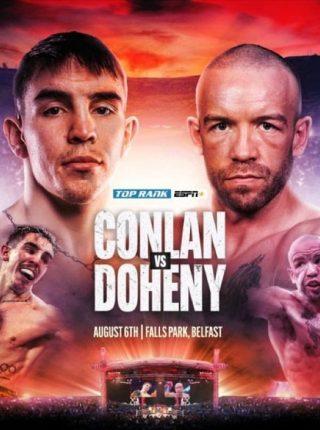 Michael Conlan vs TJ Doheny Poster