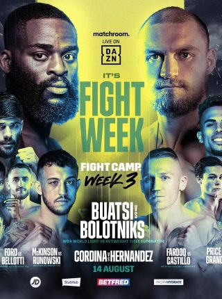 Fight Week 3 Poster