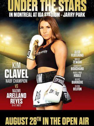 Kim Clavel vs. Maria Soledad Vargas Poster
