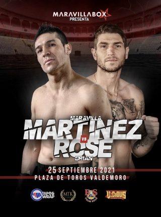 Martinez vs Rose Poster