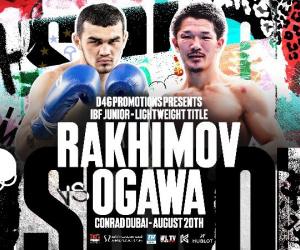 Shavkatdzhon Rakhimov vs. Kenichi Ogawa Poster