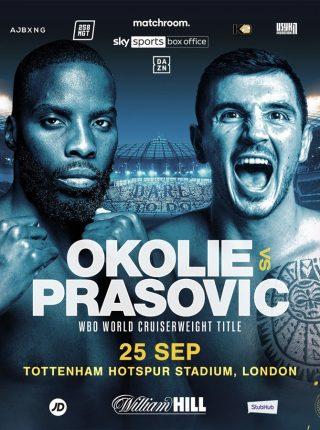 Lawrence Okolie vs Dilan Prasovic Fight-Poster